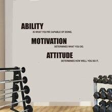Мотивационные наклейки на стену с цитатами для фотографий съемные