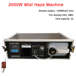 Flight Case Packing 2000W Mist