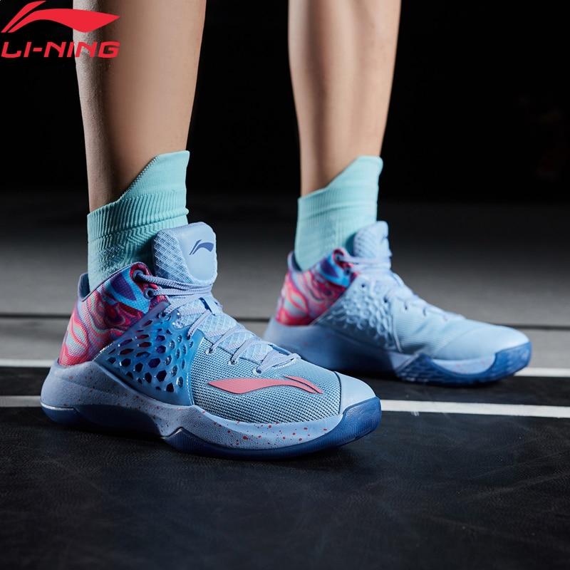 Li-Ning Men  SONIC TD On Court Basketball Shoes CJ McCollum LIGHT FOAM Wearable LiNing Sport Shoes Sneakers ABPP033 XYL258
