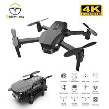 R16 mini rc drone 4k hd câmera wifi fpv pressão de ar altitude manutenção 12 minutos bateria vida dobrável quadcopter presente brinquedos