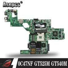 C47NF 0C47NF CN-0C47NF mainboard עבור Dell XPS L502X מחשב נייד האם GT525M GT540M DAGM6CMB8D0 מבחן עבודה 100% מקורי(China)
