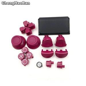 Image 5 - ChengHaoRan カスタマイズ限定版タッチパッドボタントリガー L1 R1 L2 R2 PS4 プロスリムコントローラの修理部品 JDS 040