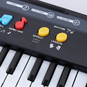 Image 5 - 37 Keys Multifunctional Mini Electronic Keyboard Piano Music Toy With Microphone Educational Electone Gift For Children Babies