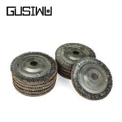 GUSIWU 5/10pcs 100mm flap grinding sanding disc for angle grinder disc sanding pad grinding wheel abrasive tool for metal wood