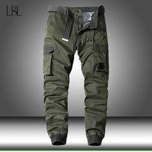 Multi-bolso calças casuais dos homens militar tático joggers calças de carga ao ar livre caminhadas trekking moletom masculino hip hop inferior