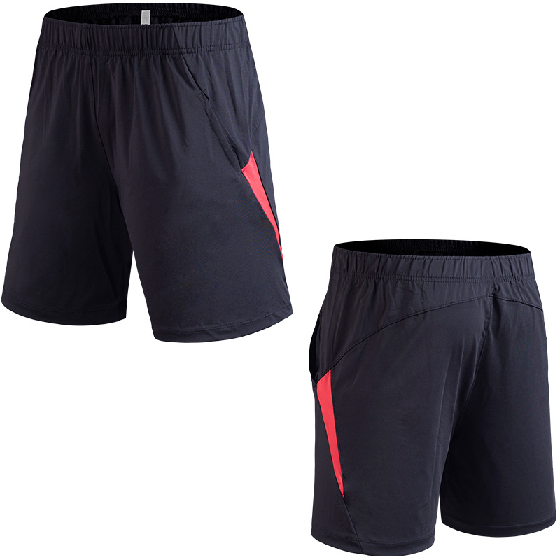 New Men Summer More Pockets Shorts Gyms Fitness Bodybuilding Running Shorts Knee Length Breathable Shorts Sportswear