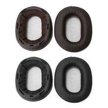 Замена амбушюры подушки для наушники Сони MDR-1RBT 1Р МК2 1ADAC МЛУ-1А 1ABT белка мягкой кожи уха Pad наушники