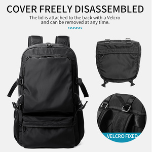 Image 4 - MOYYI 2019 NEW Style Backpacks lightweight with Large Capacity Detachable Flip Two in One Backpacks Men Bag