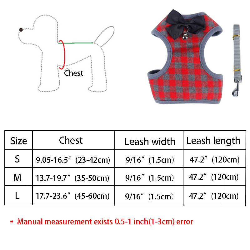 Anjing Kecil Harness dan Tali Set PET Kucing Rompi Harness dengan Ikatan Simpul Mesh Empuk untuk Anak Anjing Kecil Anjing Chihuahua Hewan Peliharaan aksesoris