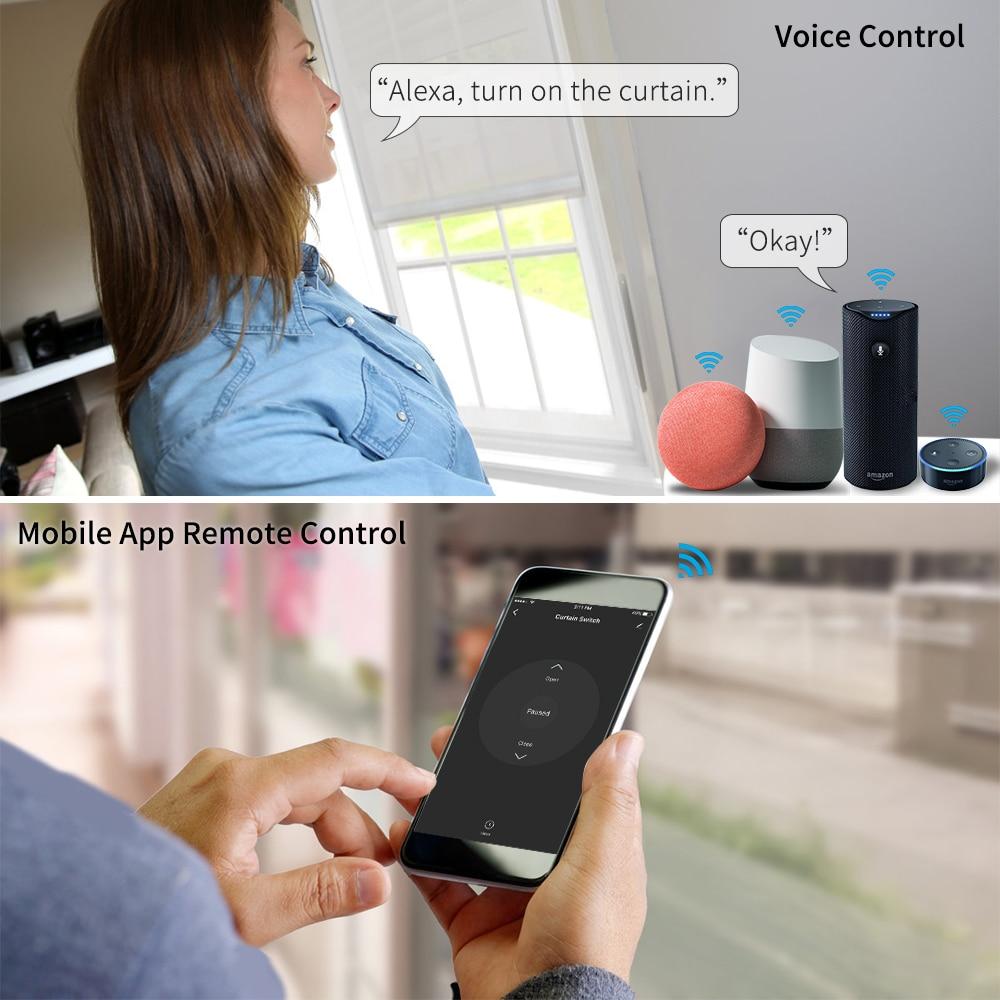 Hot DealsBlind-Switch-Module Motor Curtain Roller Shutter Voice-Control Tuya Alexa Life-Wifi Smart