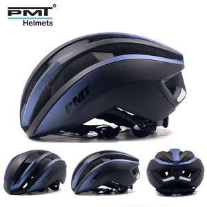 Image 3 - PMT جديد دراجة خوذة متكاملة مصبوب الدراجات خوذة تنفس الطريق الجبلية خوذة الدراجة البخارية