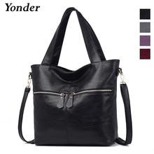 Yonder sac en cuir véritable pour femmes sac à main dame sac grande capacité bandoulière sac fourre tout de haute qualité sac a main femme