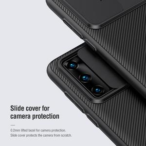 Image 3 - Nillkin Phone Case for Huawei P40 /P40 Pro Cover CamShield Case Slide Camera Lens Protection Cover for Huawei P40 Pro 5G Case