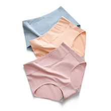 High waist cotton briefs large size breathable