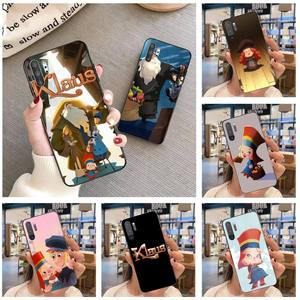 Hpchcjhm klaus filme capa de telefone macio para samsung nota 7 8 9 10 plus lite galaxy j7 j8 j6 plus 2018 prime