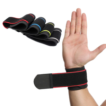 1PCS Adjustable Sports Wrist Brace Wrap Support Band Gym Strap Safety Sports Wristband Protective Hand Bands