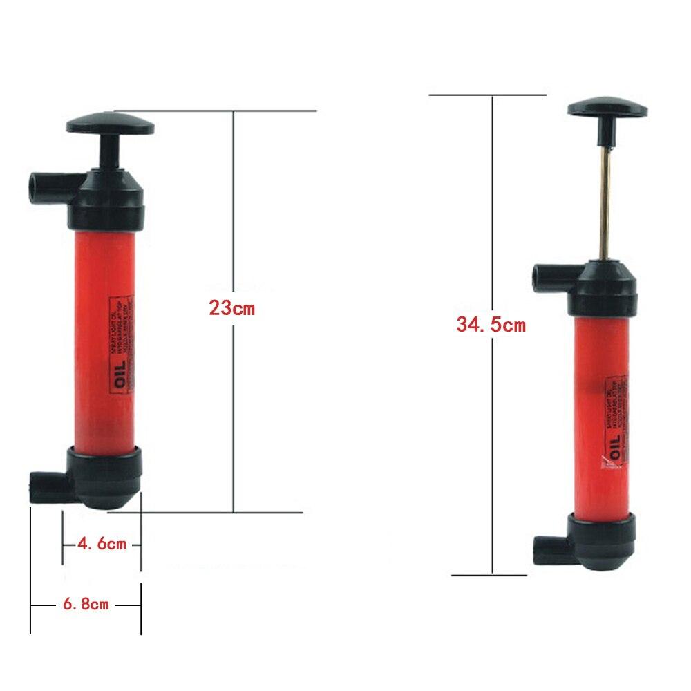 Купить с кэшбэком Manual Car Siphon Pump Pipe Oil Extractor Gas Liquid Water Change Transfer Hand Air Pumps #2