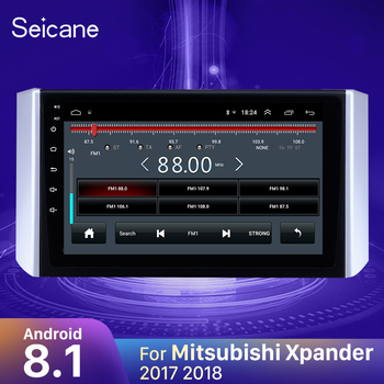Seicane Android 8.1 9 inch Car Stereo Multimedia Player for 2017 2018 Mitsubishi Xpander Auto Radio GPS Navigation 3G TPMS image