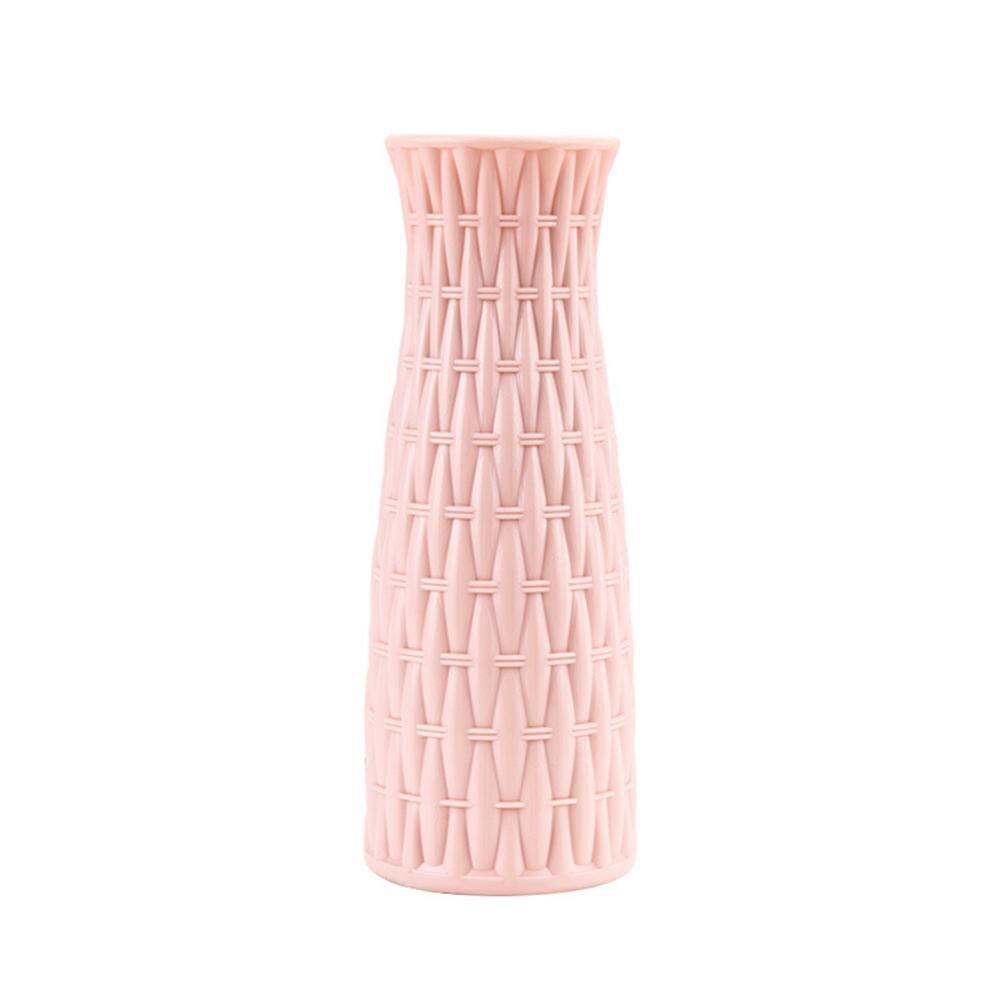 Скандинавском стиле Цветочная корзина ваза для цветов и рисунком в виде птичек-оригами Пластик ваза мини бутылка имитация Керамика украшение цветочный горшок для дома - Цвет: RL1267B