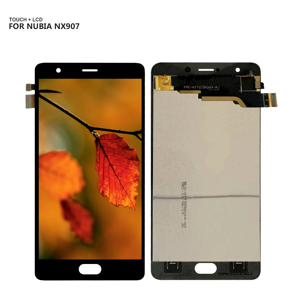 AAA+ Quality For ZTE Nubia M2 Play NX907 NX907J LCD Display Digitizer Screen Touch Panel Glass Sensor Assembly(China)