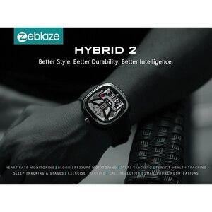 Image 2 - Zeblaze Hybrid 2 Dual Smart Watch Zeblaze HYBRID Smart Watch Heart Rate Blood Pressure Monitor 5ATM Waterproof Sports Smartwatch