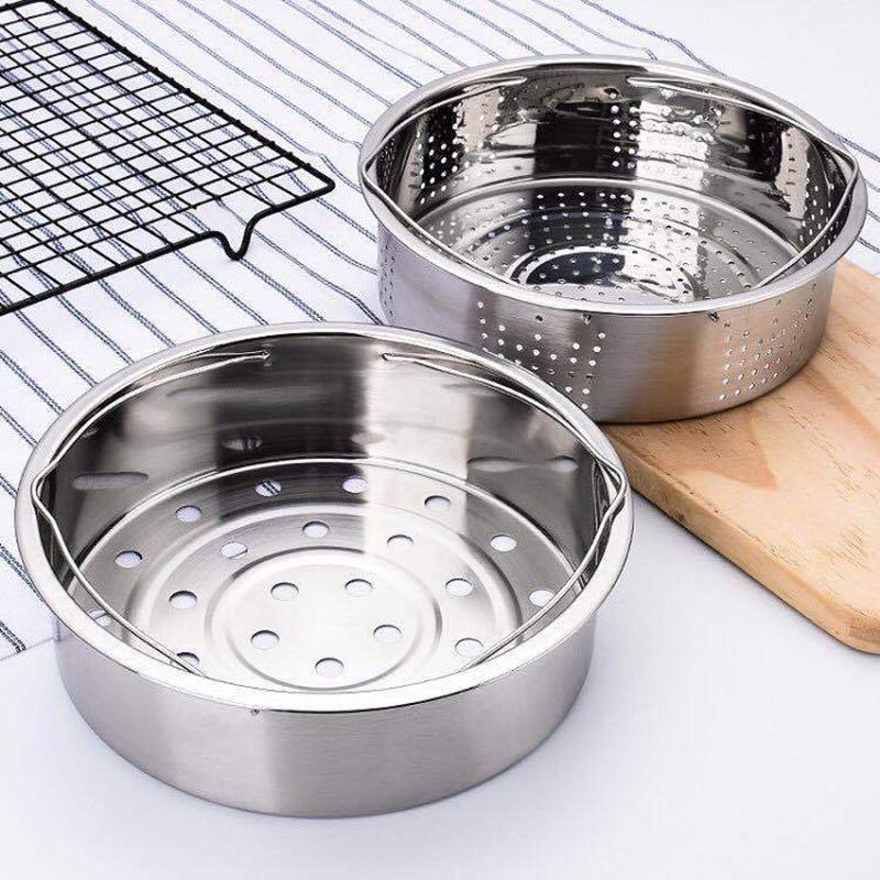 Stainless Steel Pot Steamer Basket Egg Steamer Rack Divider For Pressure Cooker Pot FP8