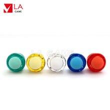 Прозрачная аркадная Кнопка rasberry pi с подсветкой 20 шт набор