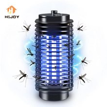 Electronics Mosquito Killer LED Electric Bug Zapper Lamp Anti Mosquito Repeller EU&US Plug Electronic Mosquito Trap Killer(China)