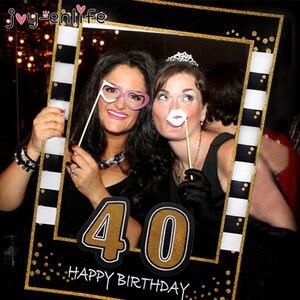 Воздушные шары на день рождения, 30, 40, 50, 60 лет, черные, золотые, вечерние, для взрослых