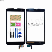 Mobile Touch Screen For Crosscall Action X3 Touch Screen ( No LCD Display ) Digitizer Panel Front Glass Lens Sensor Replacemet