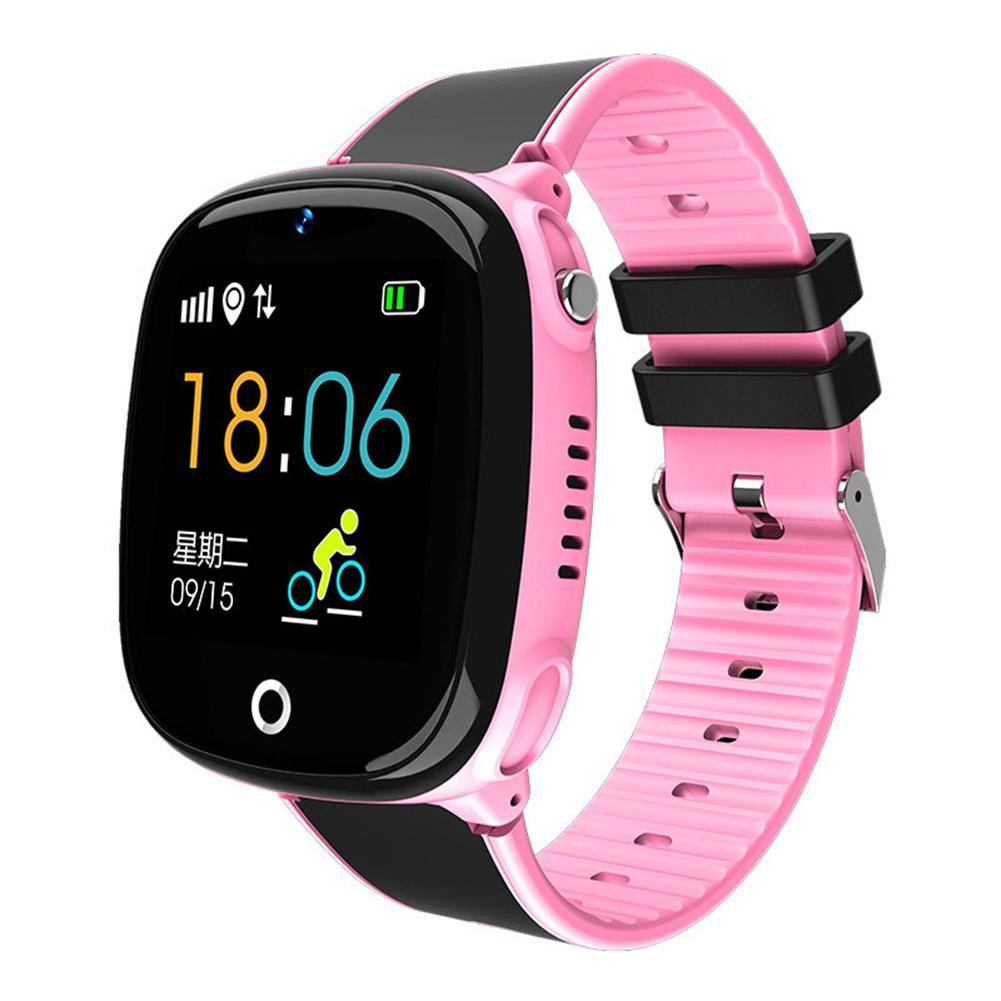 HW11 Waterproof Voice Chat GPS Remote Camera 2G Network Kids Smart Bracelet Waterproof Smarthwatch Fitness Tracker Smartband
