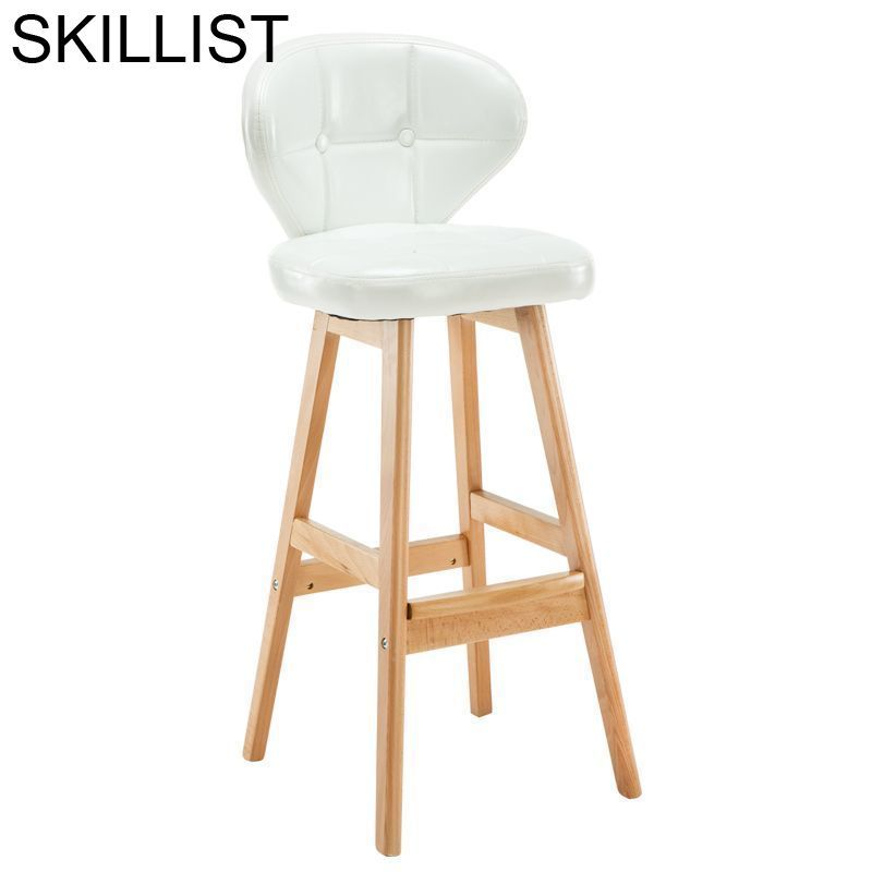Ikayaa Barstool Barkrukken Taburete Cadeira Sedie Stuhl Hokery Leather Tabouret De Moderne Stool Modern Silla Bar Chair