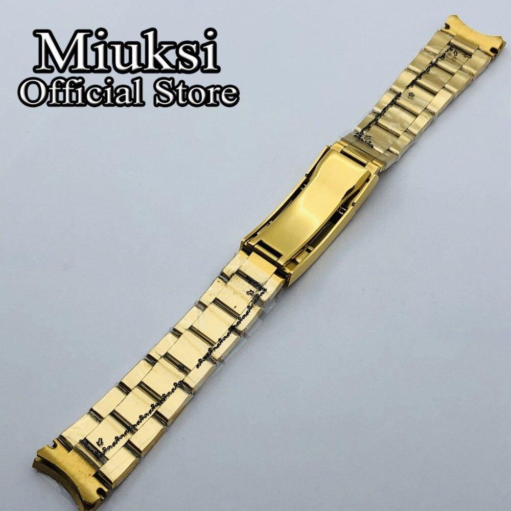 pulseira de relógio dobrável fivela caber 40mm