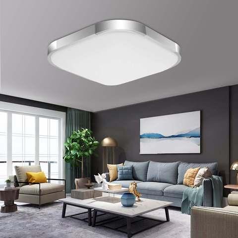 moderno levou lampadas de luz de teto para sala de estar decoracao surface mount 12