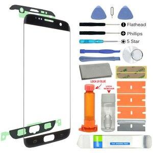 Image 2 - Tam Set 18 in 1 araç kiti Lens cam Samsung Galaxy S7 +/S8/S8 +/S9/S9 +/S10/S10 + kırık Lens siyah renk
