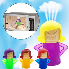 Angry Mom Microwave Cleaner Oven Steam Cleaner Easily Cleans Microwave Appliances for The Kitchen Refrigerator Cleaning Tools
