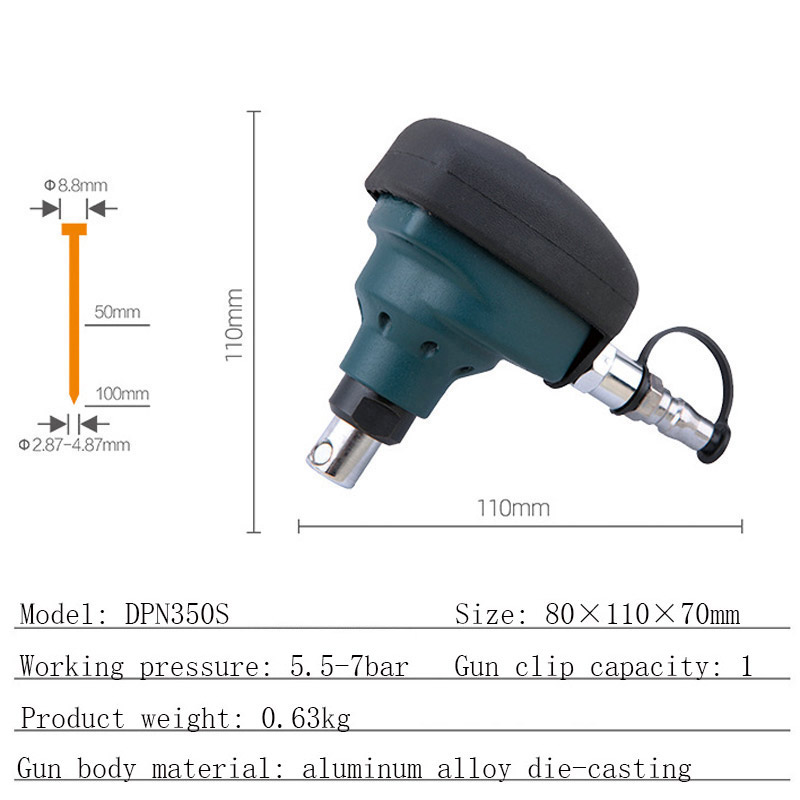 Tools : Pneumatic Nail Hammer Mini Air Palm Nailer Gun Woodworking Magnetic Steel Automatic Impact Hammer Tool Air Nail Hammer