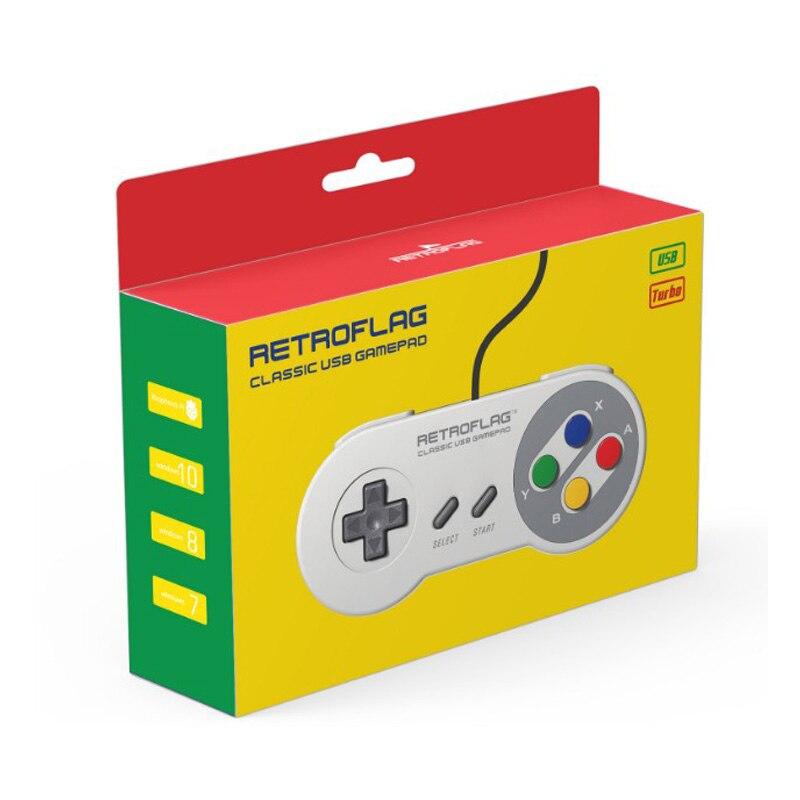 Retroflag Original USB Gamepad SUPERPi Game Controller for SUPERPi CASE U / CASE J / NESPi Case /MEGAPi Case/ Raspberry Pi 3 Mod|Demo Board Accessories| |  - title=