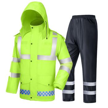 Kombinezon płaszcz przeciwdeszczowy spodnie garnitur wodoodporny na zewnątrz motocykl nieprzemakalny płaszcz przeciwdeszczowy płaszcz przeciwdeszczowy turystyka Yagmurluk sprzęt przeciwdeszczowy BE50rc tanie i dobre opinie NoEnName_Null CN (pochodzenie) Odzież przeciwdeszczowa Raincoats Single-osoby przeciwdeszczowa Oxford tkaniny Dorosłych