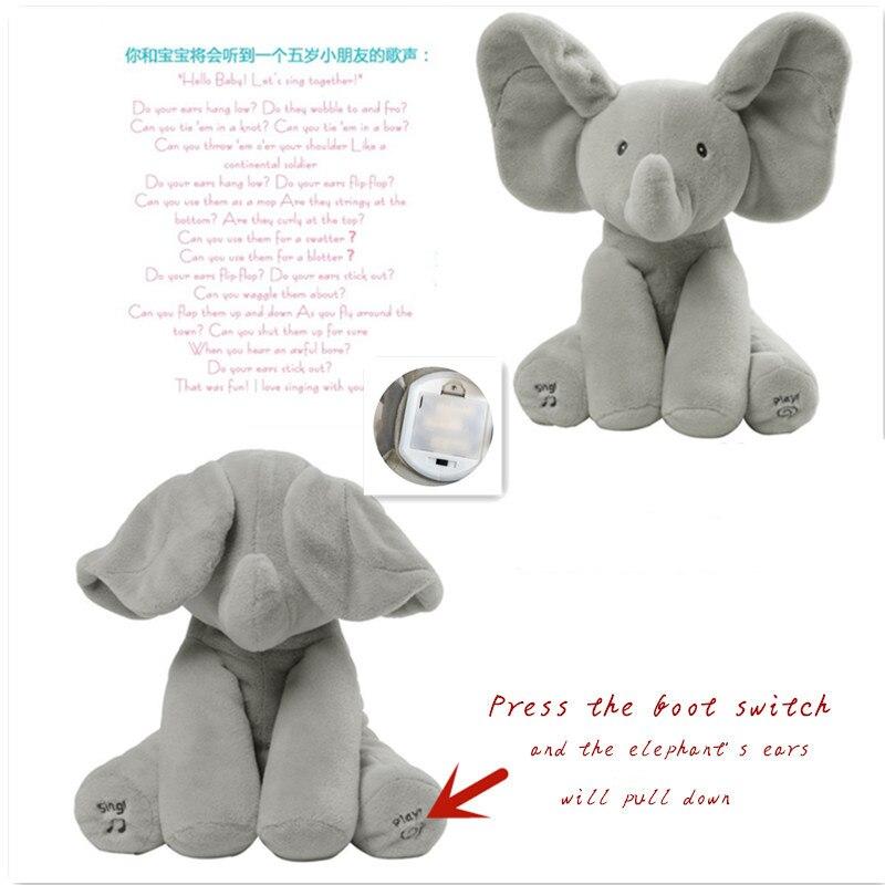 boneca elefante primeira infância educação brinquedo