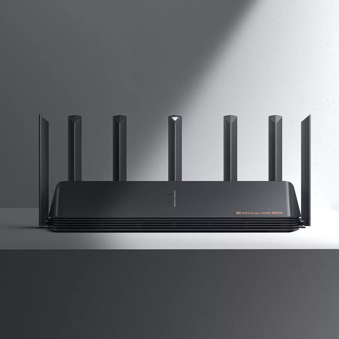 New Xiaomi Router AX6000 AIoT Router 6000Mbs WiFi6 VPN 512MB Qualcomm CPU Mesh Repeater External Signal Network Amplifier M 4