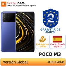 POCO M3 – Smartphone, Version globale, 4 go de RAM, 128 go de ROM, processeur Snapdragon 662 Octa Core, écran DotDrop de 6.53 pouces, Triple caméra 48mp, batterie de 6000mAh