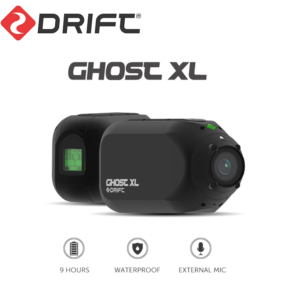 Chegada nova deriva fantasma xl câmera de ação esporte câmera 1080 p motocicleta mountain bike bicicleta câmera capacete cam com wifi