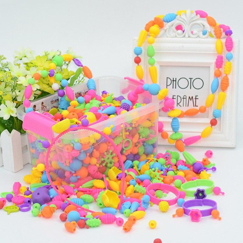 Jouets loisirs Arts artisanat bricolage jouets variables pop perles modifiables bracelet jouets cadeau filles jouets pour 8 ans ensembles pour les enfants