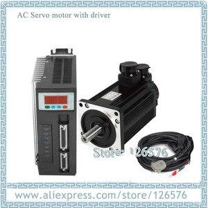 Image 1 - Серводвигатель переменного тока 130ST M10025 130ST 10 нм 2500 кВт об/мин с тормозом и драйвером с кабелем 10 м