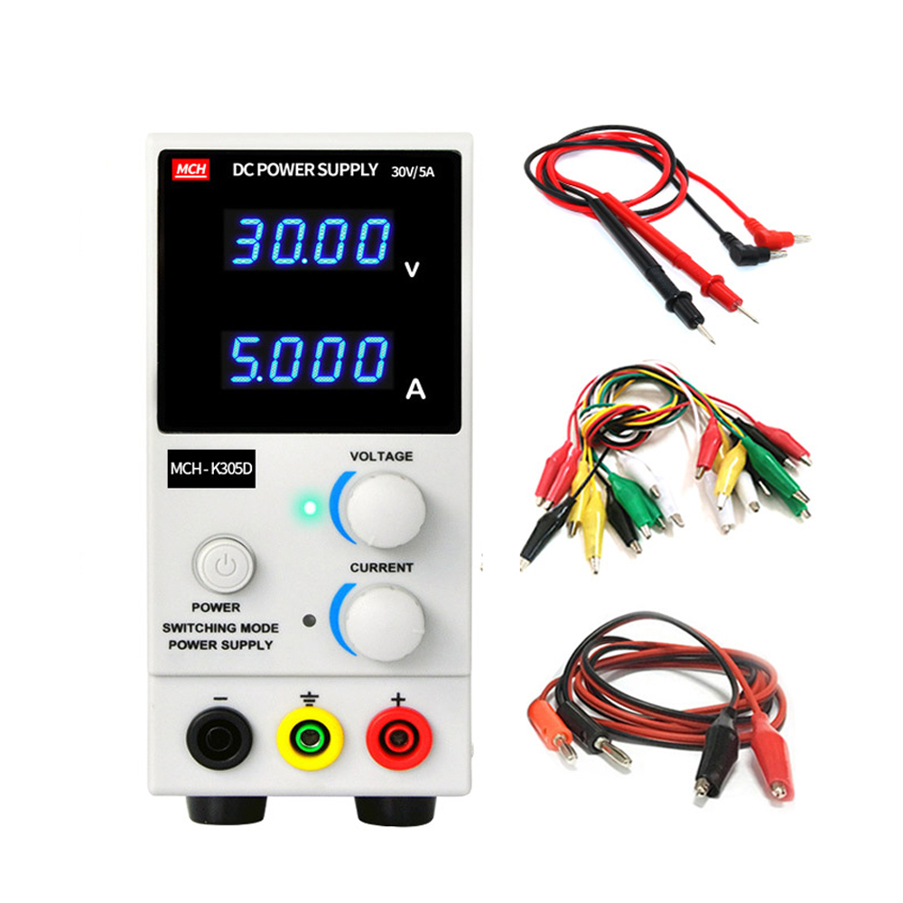 New MCH305D DC Adjustable Power Supply High Precision 4digit display Laboratory Test Mobile Phone Repair Power Voltage Regulator image