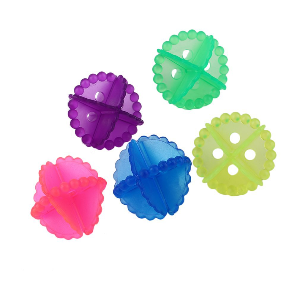 Ball Laundry-Balls Cleaning-Tool Fabric Clear Color-Random New 1pcs Useful Personal-Care