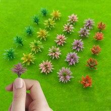 Model Tree Bushes| HO Scale Flower Grass Forest Greenery Plants Building Park Garden Miniature Landscape Layout 1:87/1:100