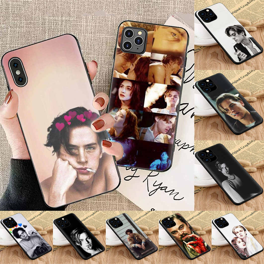 Leonardo Dicaprio Soft Silicon phone Case for iPhone 5 6 7 8 11 5s 6s 6sPlus 7Plus 8Plus X XS XR XSMax 11 Max 11 Pro