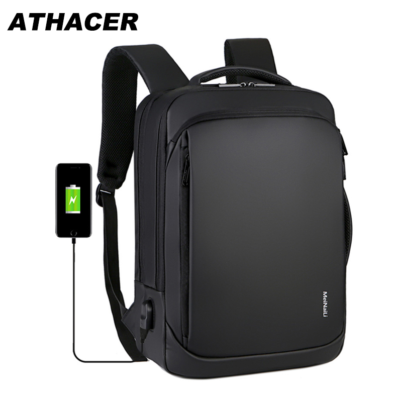 Multifunctional Laptop Backpack For Men Anti Theft Bag USB Charging Big Capacity Wear Resist Travel Business School Backpack